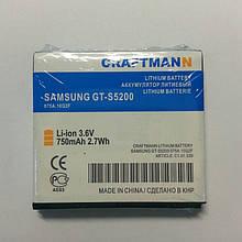 Акуумулятор craftmann для samsung s5200 EB504239HU 750mAh