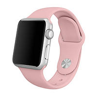 Умные часы Smart Watch IWO2 Pink\silver   1:1 копия apple watch