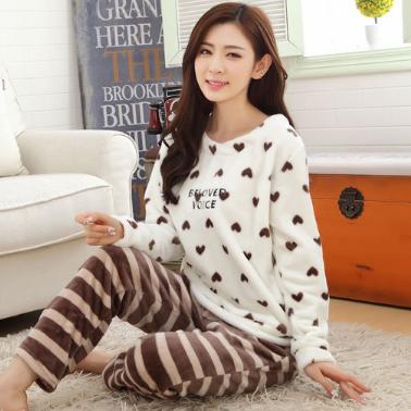 Женские теплые пижамы.Модель 2047