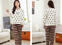 Женские теплые пижамы.Модель 2047, фото 3