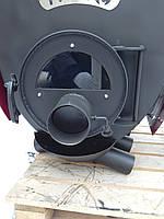 Печь Hott (хотт) с варочной поверхностью  и стеклом «04» -35кВт-1000 м3
