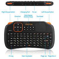 Беспроводная мини-клавиатура 3-in-1; + Air Mouse + Пульт;2,4гГц