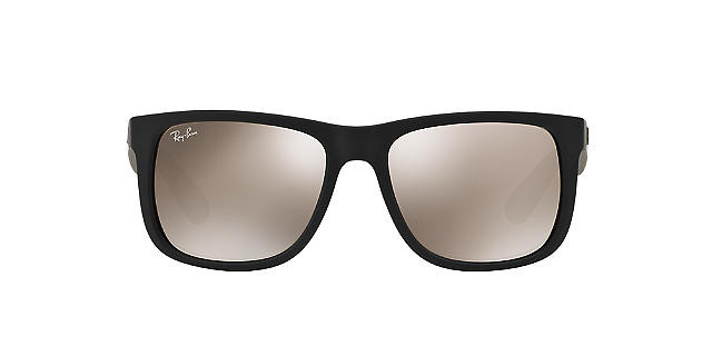 Солнцезащитные очки Ray-Ban ORIGINAL JUSTIN MIRROR COLLECTION BLACK/BROWN RB4165 54