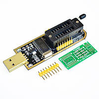 Программатор USB CH341A; 24 EEPROM, 25 SPI, flash 8pin/16pin