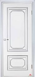 Двери Белоруссии Серебрянка ПГ белый лак