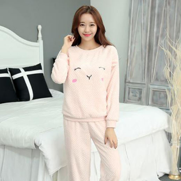 Женские теплые пижамы.Модель 2048