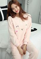 Жіночі теплі піжами.Модель 2048, фото 2