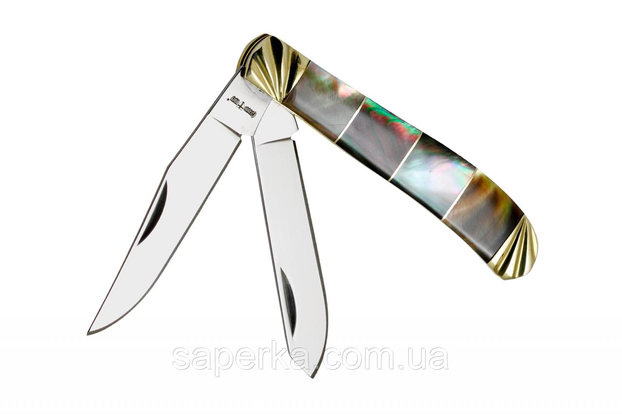 Нож складной универсальный с двумя лезвиями Grand Way 27152 BST