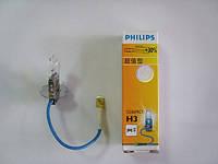 Автолампа PHILIPS H3 12V 55W +30% Premium