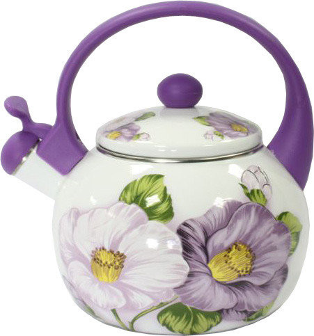 Чайник эмалированный 2,2 л Мальва DECOR 2 (09С0235)