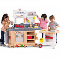 Кухня игровая с грилем и тележкой Little Tikes 484230