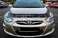 Дефлектор Капота Мухобойка Hyundai Accent с 2010 г.в.