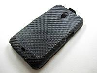 Кожаный чехол Samsung i9250 Nexus (черный), фото 1