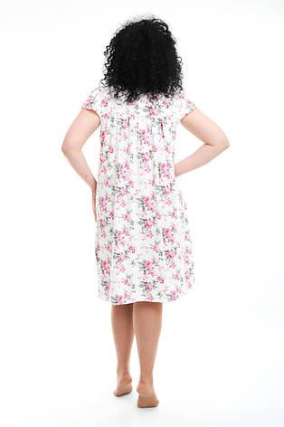 Женская ночная рубашка баттал, фото 2
