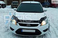 Дефлектор Капота Мухобойка Ford Focus 2008-2011