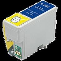 Картридж WOX для EPSON T038 Black (C13T03814A10)