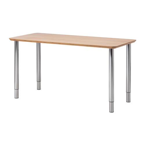"IKEA ""ХИЛВЕР / ГЕРТОН"" Стол, бамбук, 140x65 см"