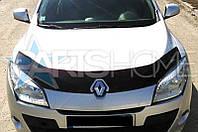 Дефлектор Капота Мухобойка Renault Megane III с 2008 г.в.
