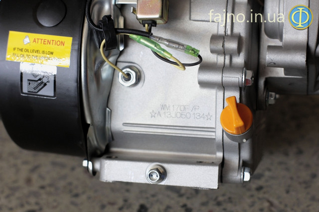 Двигатель Weima WM-170 с редуктором  датчик масла