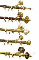 Карнизы трубчатые кованные