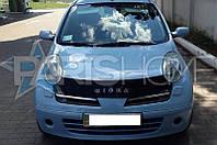Дефлектор Капота Мухобойка Nissan Micra 2003-2009