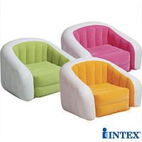 Надувное кресло Intex 68571 Cafe Club Chair ( без насоса) 97 х 76 х 69 см