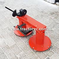 Косилка роторная КР-110 передняя для мотоблока из увеличенным захватом и улучшенными ножами