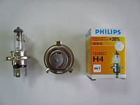 Автолампа PHILIPS H4 12V 60/55W +30%Premium