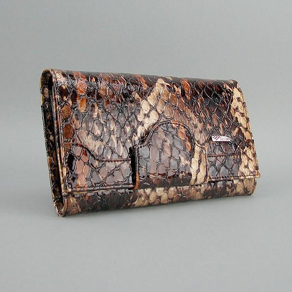 002dd8b54545 Кошелек женский Desisan кожа коричневая змея - Интернет магазин сумок  SUMKOFF - женские и мужские сумки