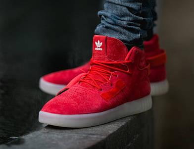 "Мужские кроссовки Adidas Tubular Invader Strap ""Red/Vintage/White"""