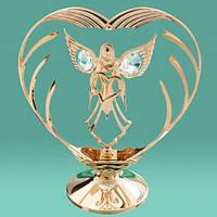 """Оригинальная статуэтка Swarovski """"Ангел в сердце"""""""