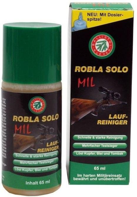 Раствор для чистки стволов Klever-Ballistol Robla Solo Mil, 65 мл