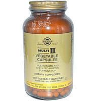 Мультивитамины Solgar Multi II, 180 капсул