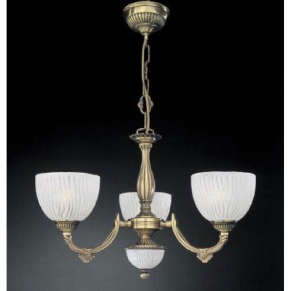 Люстра RECCAGNI ANGELO L 5600/3 золото/белый