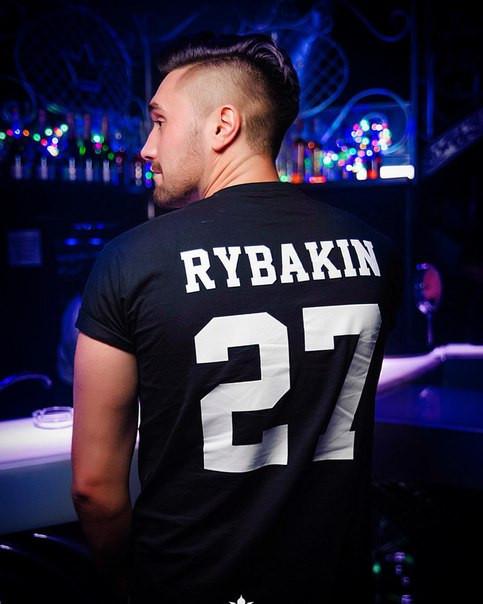 Мужская именная футболка