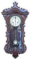 Старинные настенные часы в виде гитары