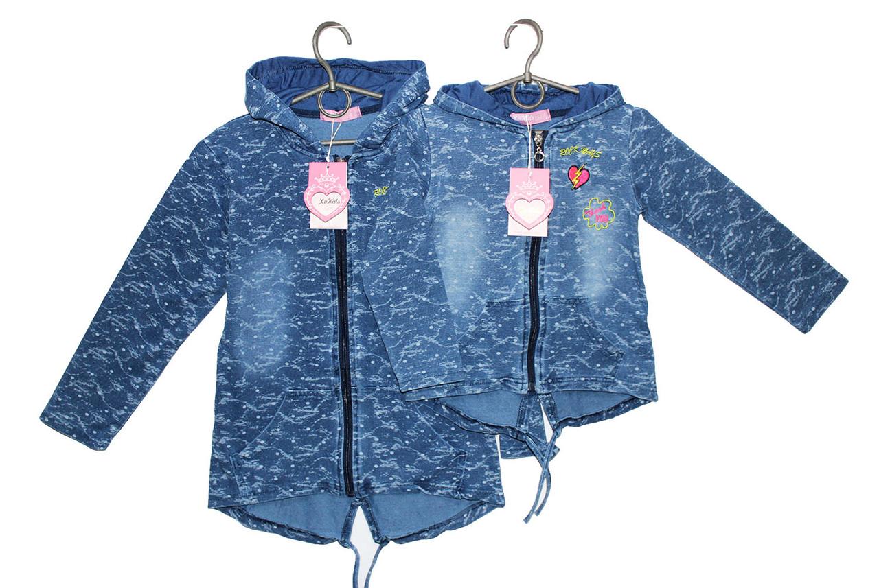 Ветровка джинсовая детская для девочки CL-045