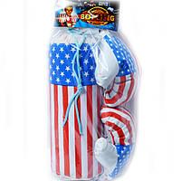 Детский боксерская груша Америка маленькая