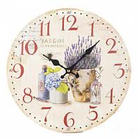 """Интерьерные настенные часы """"Стиль Прованс"""" 34 см"""