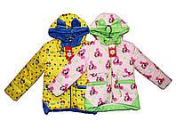 Курточка детская для девочки на весну Мики, фото 1