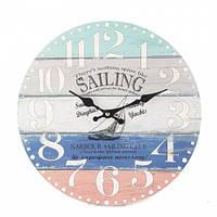 """Настенные часы """"Морской стиль"""" 34 см"""