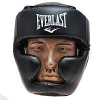 Шлем боксерский закрытый EVERLAST EVF475 (черный, р.XL)