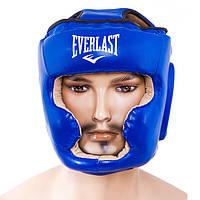 Шлем боксерский закрытый EVERLAST EVF475 (синий, р.S)
