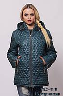 Купить куртку весенне-осеннюю женскую. ПС-11, цвет: Бирюза