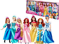 Принцессы диснея(коллекция из 7-ми кукол)/Disney Princess Royal Doll Collection 7-Pack