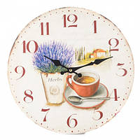 """Часы """"Уютный прованс"""" 34 см на стену"""