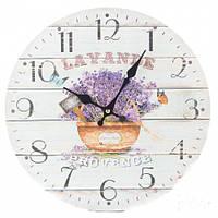 """Часы настенные """"Лаванда. Прованс"""" 34 см"""
