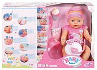 Кукла оригинал Zapf Creation Baby born  Беби Борн  Очаровательная малышка 43 см с  аксессуарами, фото 1