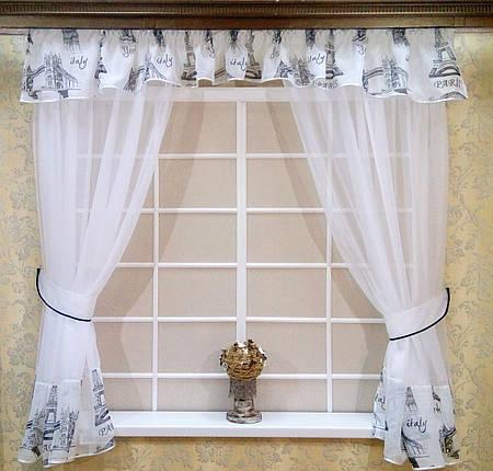 """Кухонные шторы """"Париж"""", фото 2"""
