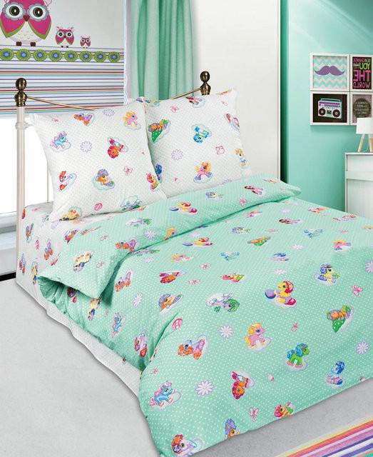 Сменный постельный комплект в кроватку «Перлинка», KidsDreams
